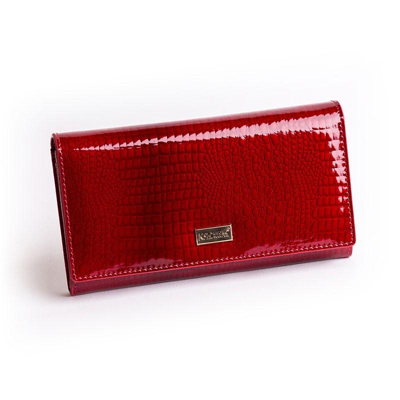 Kroko Mander női lakkbőr pénztárca
