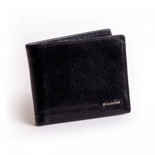 Blackline férfi bőr pénztárca